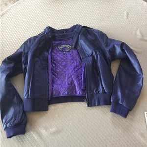 Jackets & Blazers - Knoles & Carter Leather Jacket Size 8